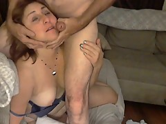 Big Ass Mommy Gets A Facial